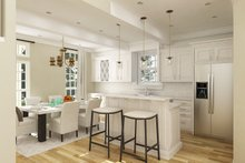 House Blueprint - Cottage Interior - Kitchen Plan #45-595