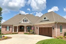 Ranch Exterior - Front Elevation Plan #437-90