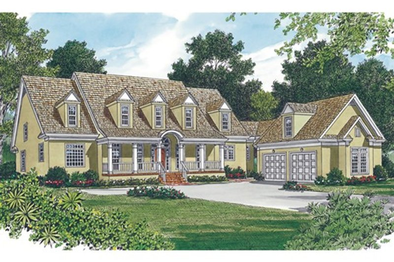 Country Exterior - Other Elevation Plan #453-13 - Houseplans.com