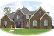 Colonial Style House Plan - 4 Beds 4 Baths 4183 Sq/Ft Plan #81-1607 Exterior - Front Elevation