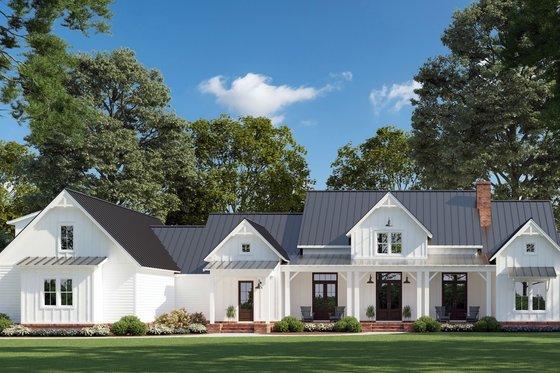Farmhouse Exterior - Front Elevation Plan #1074-9