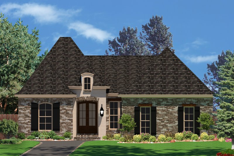 House Plan Design - European Exterior - Front Elevation Plan #430-85