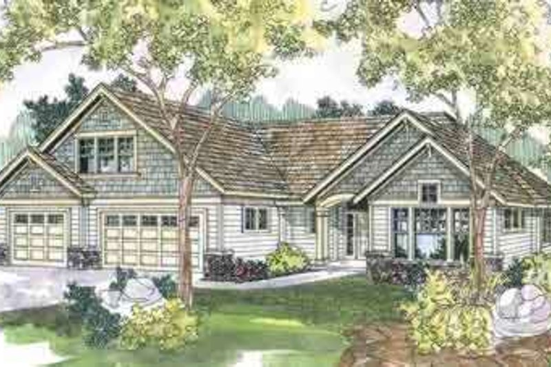 Traditional Exterior - Front Elevation Plan #124-546 - Houseplans.com