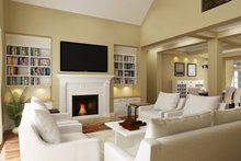 Dream House Plan - Traditional Interior - Family Room Plan #45-380