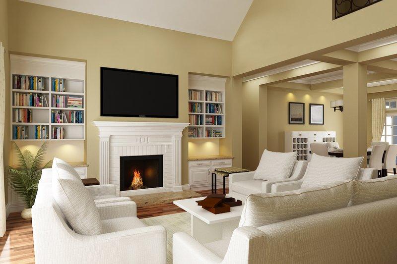 Traditional Interior - Family Room Plan #45-380 - Houseplans.com
