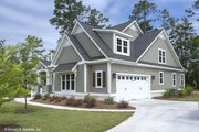 Craftsman Style House Plan - 3 Beds 2.5 Baths 2592 Sq/Ft Plan #929-833 Exterior - Other Elevation