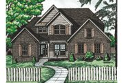 Traditional Style House Plan - 4 Beds 2.5 Baths 2339 Sq/Ft Plan #20-222 Exterior - Front Elevation