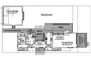 Beach Style House Plan - 3 Beds 4 Baths 2220 Sq/Ft Plan #433-1 Floor Plan - Main Floor