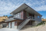 Modern Style House Plan - 4 Beds 3.5 Baths 2779 Sq/Ft Plan #451-21 Exterior - Other Elevation