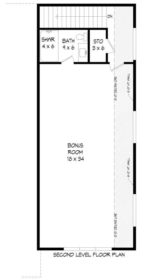 House Plan Design - Traditional Floor Plan - Upper Floor Plan #932-430