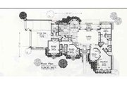Colonial Style House Plan - 3 Beds 0 Baths 2763 Sq/Ft Plan #310-871 Floor Plan - Main Floor