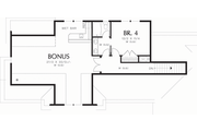 Craftsman Style House Plan - 4 Beds 3.5 Baths 3346 Sq/Ft Plan #48-548 Floor Plan - Upper Floor