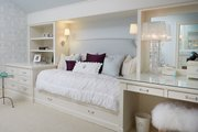 Tudor Style House Plan - 5 Beds 5 Baths 7398 Sq/Ft Plan #928-275 Interior - Bedroom