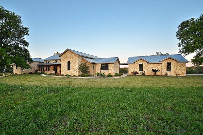 Ranch Exterior - Front Elevation Plan #140-149 - Houseplans.com