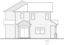 Country Exterior - Other Elevation Plan #124-1078