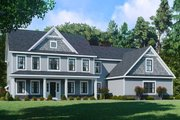 Farmhouse Style House Plan - 5 Beds 3 Baths 3549 Sq/Ft Plan #1010-248
