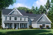Farmhouse Exterior - Front Elevation Plan #1010-248