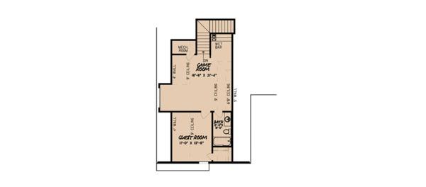 House Plan Design - European Floor Plan - Upper Floor Plan #923-87