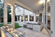 Modern Style House Plan - 4 Beds 4.5 Baths 4541 Sq/Ft Plan #449-13 Exterior - Outdoor Living