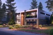 Contemporary Style House Plan - 5 Beds 4 Baths 3010 Sq/Ft Plan #1066-102