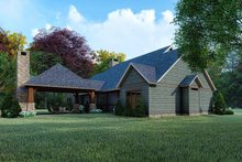 Dream House Plan - Farmhouse Exterior - Other Elevation Plan #923-161