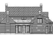 Classical Style House Plan - 3 Beds 4.5 Baths 4049 Sq/Ft Plan #119-252 Exterior - Rear Elevation