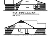 Traditional Style House Plan - 2 Beds 2 Baths 1249 Sq/Ft Plan #329-108