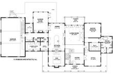 Country Floor Plan - Main Floor Plan Plan #928-276