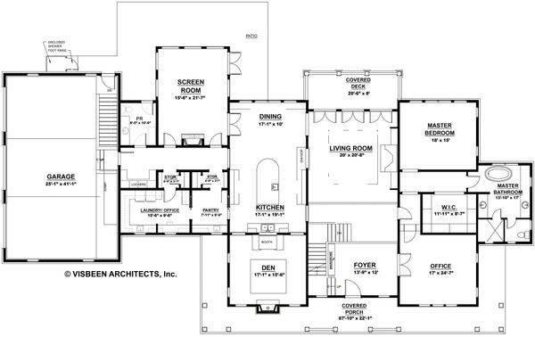Country Floor Plan - Main Floor Plan Plan #928-276
