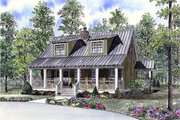 Cottage Style House Plan - 3 Beds 2 Baths 1451 Sq/Ft Plan #17-624