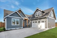 Craftsman Exterior - Front Elevation Plan #1070-24