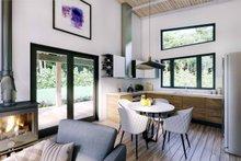 Architectural House Design - Modern Interior - Kitchen Plan #924-3