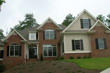 Dream House Plan - Traditional Exterior - Front Elevation Plan #437-37