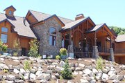 Craftsman Style House Plan - 6 Beds 4 Baths 6105 Sq/Ft Plan #5-170 Exterior - Other Elevation