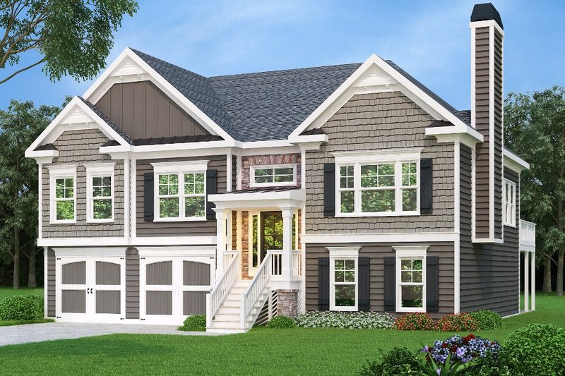 Traditional Exterior - Front Elevation Plan #419-172 - Houseplans.com