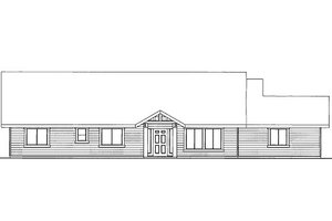 Ranch Exterior - Front Elevation Plan #117-780