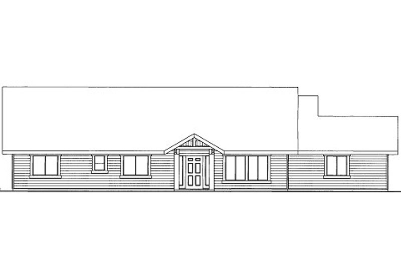 Ranch Style House Plan - 3 Beds 2 Baths 1996 Sq/Ft Plan #117-780