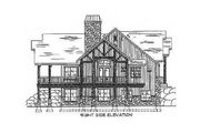 Craftsman Style House Plan - 3 Beds 3.5 Baths 2495 Sq/Ft Plan #5-147 Exterior - Other Elevation