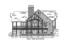 Architectural House Design - Craftsman Exterior - Other Elevation Plan #5-147
