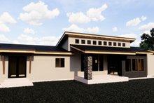Dream House Plan - Contemporary Exterior - Rear Elevation Plan #920-15