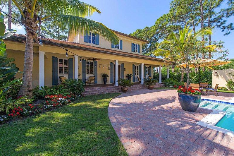 Dream House Plan - Beach Exterior - Front Elevation Plan #27-497