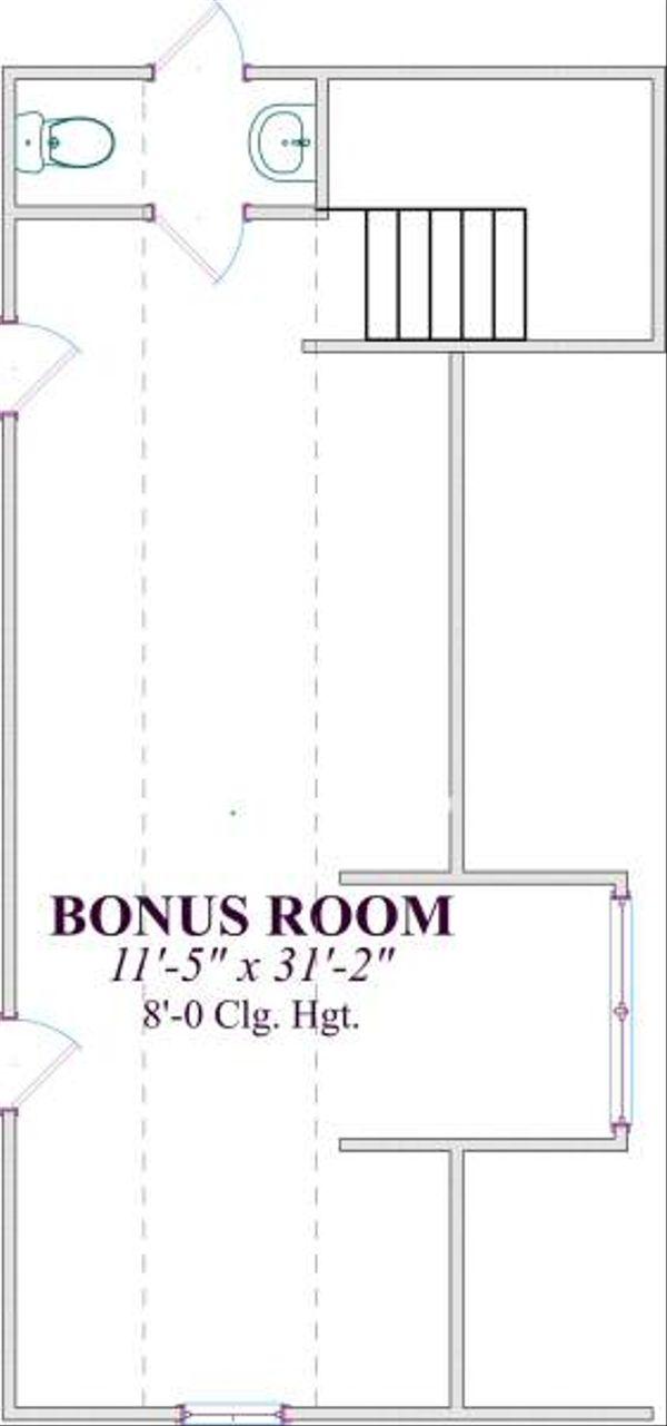 Traditional Floor Plan - Other Floor Plan Plan #63-141