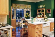 Country Interior - Kitchen Plan #927-37