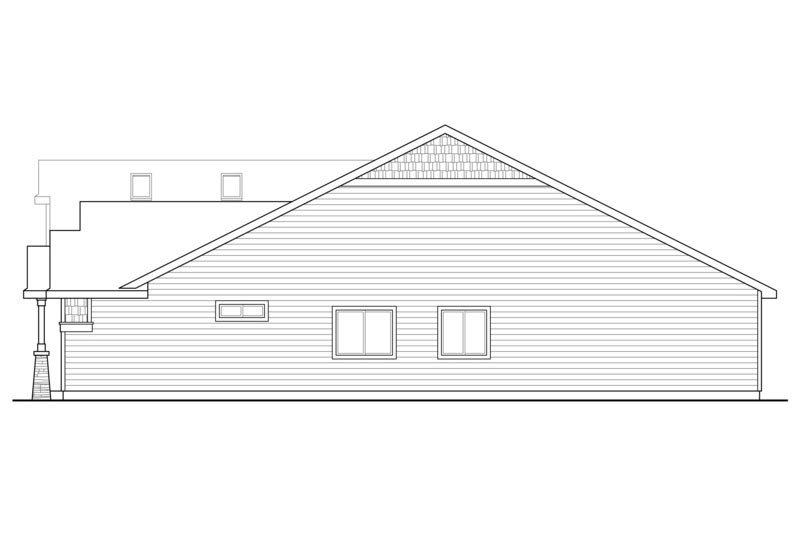 Craftsman Exterior - Other Elevation Plan #124-867 - Houseplans.com
