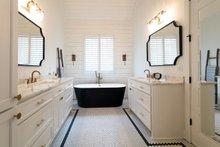 Architectural House Design - Traditional Interior - Master Bathroom Plan #437-83