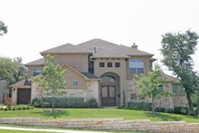 Home Plan - Mediterranean Exterior - Front Elevation Plan #80-130