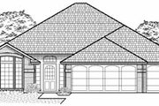 Traditional Style House Plan - 3 Beds 2 Baths 1786 Sq/Ft Plan #65-194 Exterior - Front Elevation