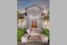 Cottage Exterior - Covered Porch Plan #938-107