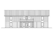 Contemporary Exterior - Front Elevation Plan #569-37