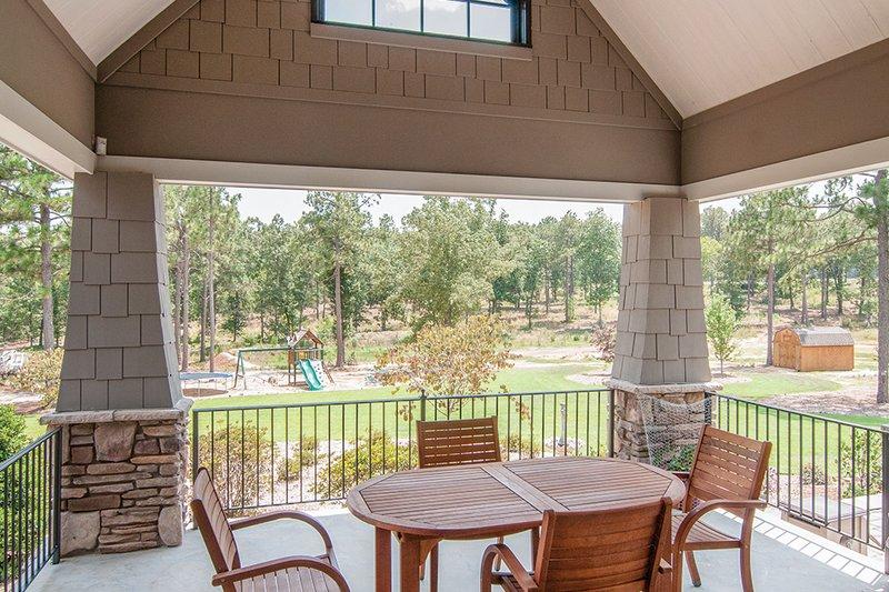 Craftsman Exterior - Outdoor Living Plan #929-1 - Houseplans.com